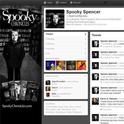 Spooky on Twitter